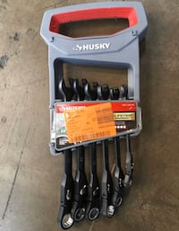 Husky 100-Position Flex-Head Ratcheting Wrench Set Metric (6-Piece)