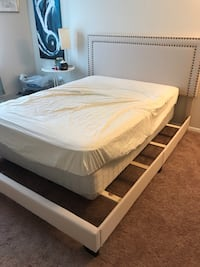 Queen size bed frame . New out of the box assembled but can be boxed Silver Spring, 20904
