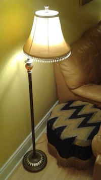 brown and black table lamp Mississauga, L5B 4M7