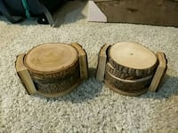 Wood Coasters 38 km