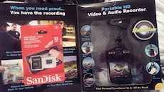 Portable video and audio recorder
