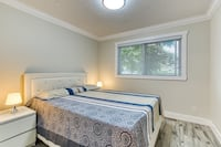 White bed with hood