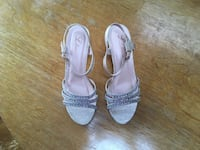 Sandals with embellishments