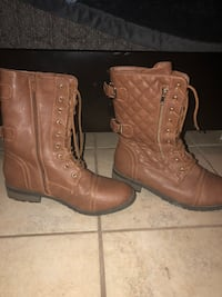 Caramel like boots. Mid-shin length. Size:10 Copperas Cove, 76522