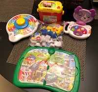 LeapFrog toys bundle - 5 toys/all functioning perfectly Reston, 20191
