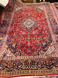 red, brown, and black floral area rug Vaughan, L6A 4C5