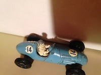 Vintage toy car CRESCENT TOY England 1956 GORDINI 2.5 LITRE Grand Prix open wheel RACING CAR   Toronto