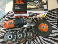Brand new angle grinder used once. With wheels  Virginia Beach, 23455