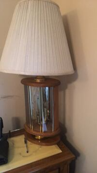 brown and white table lamp Reisterstown, 21136