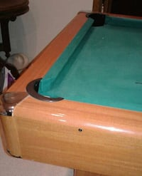 HALEX POOL TABLE WILL TRADE FOR ARCADE STAND UP OR Cambridge
