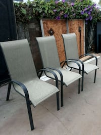 Metal with mesh chairs Ventura, 93003