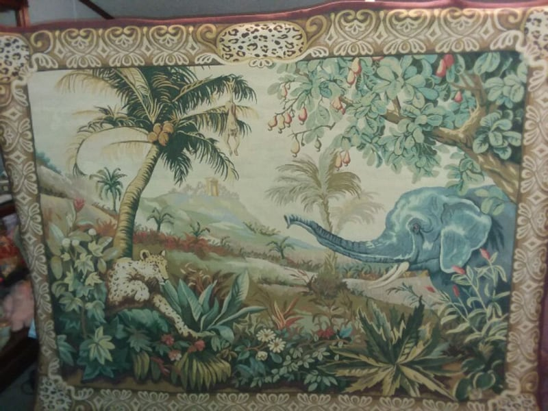 REPRODUCTION FRENCH TAPESTRY  f662c02e-1993-4af9-a854-9acbb8521d59