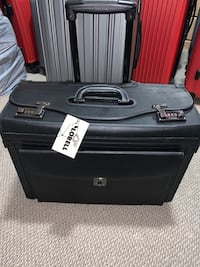 Luggage, carry on suitcase, computer case