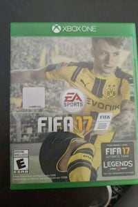 FIFA 17 Xbox One game case Toronto, M1K 2C5