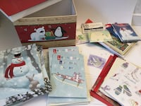 A box of assorted Christmas cards ,about 50 Toronto, M3B