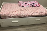 BED-extends to double bed, comes with lots of under bed storage Cambridge, N3H 4A8