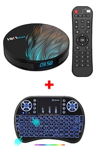 SUPER FAST HK1 Max TV BOX HD Player 4GB RAM 32GB HD Android 9 Toronto