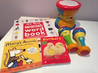 Leapfrog Drum & Maracas - alphabet songs English and Spanish & bilingual books! Washington, 20002