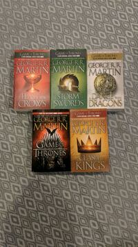 game of thrones book set  Vaughan