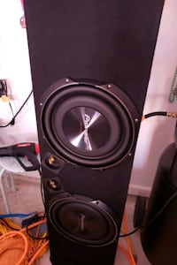 Pioneer 12 inch Shallow subwoofer and enclosure