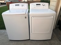 Washer and dryer set  Bloomington, 92316