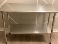 Silver Kitchen Island (2 layers) Rockville, 20850