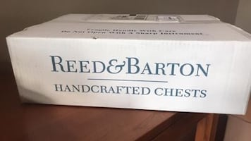 Reed and Barton handcrafted chest flatware