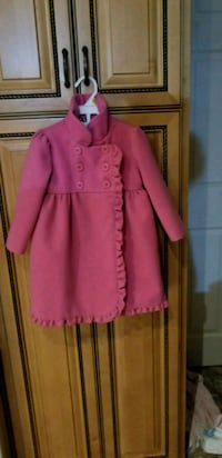 pink button-up coat 513 km