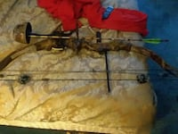 brown and black compound bow $75. No  less Conneaut Lake, 16316