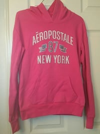 pink and white Aeropostale pullover hoodie Laredo, 78043