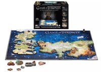 Game of Thrones 4D Puzzle of Westeros & Essos Vancouver, V6B