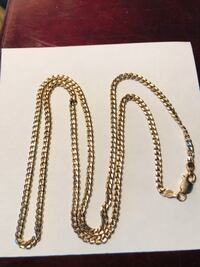 "10k Gold chain 10 grams 22"" long  St Catharines, L2N 5C2"