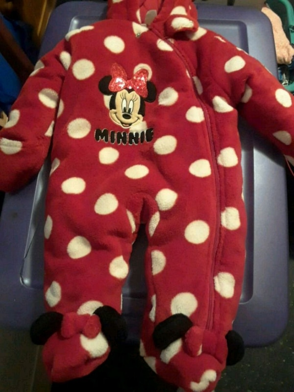 efeaa931b Used Minnie mouse snow suit 3mos for sale in Middle River - letgo