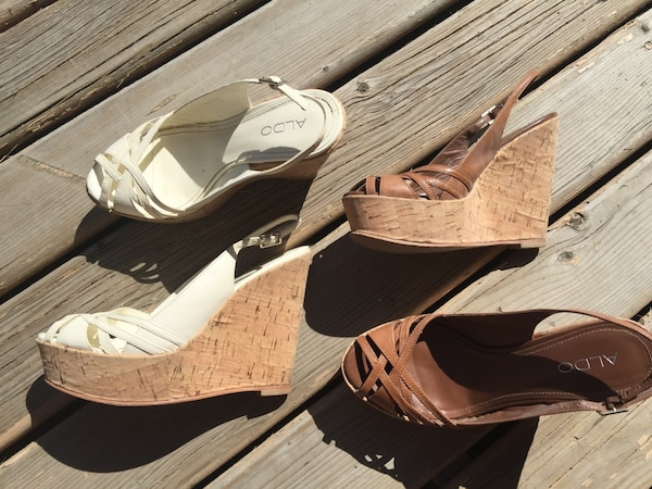 Two Wedges from Aldo