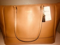 brown Coach leather tote BRAND NEW (worth $300) San Diego, 92101