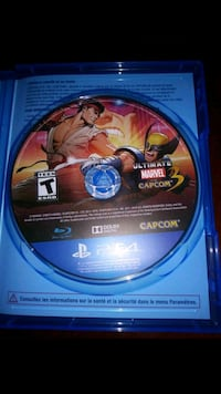 Street Fighter IV PS4 game disc Alhambra