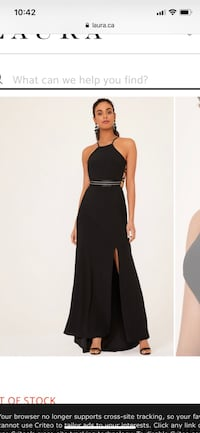 Black evening gown / Christmas dress Cavan-Millbrook-North Monaghan, K0L 1G0