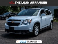 2012 Chevrolet Orlando LT with 57,278km and 100% Approved Financing Oshawa