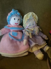 Stuff dolls special rainbow renny and reversible  Toronto