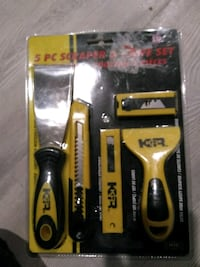black and yellow Stanley tool in pack Edmonton, T5W 3J6