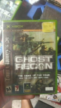 Xbox 360 Call of Duty Ghosts game case Vancouver, V6B 1H6