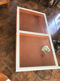 """Coffee table OBO 29x53"""" Minot peeling on one side.  West Lincoln, L0R"""