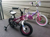 3-5 yr and 5 and up girls bikes, boys for 60 firm  San Ramon, 94583