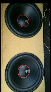 black and red subwoofer speaker Edcouch, 78538