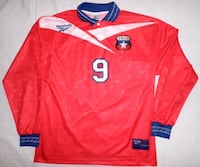 Camiseta Chile Iván Zamorano Madrid