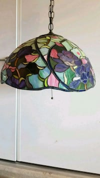 green, purple, and white tiffany lamp Ashburn, 20148