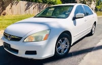 Pearl white Drives Excellent 2006 Honda Accord  Takoma Park