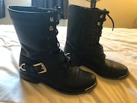 Women's boots with gold (size 8) Los Angeles, 90036