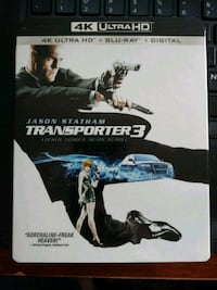 Transporter 3 4K Blu-ray & Blu-ray (New. Untouched Los Angeles, 91423