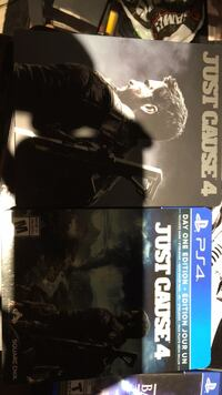 Just Cause 4 Steelbook Edition (PS4) Markham, L6B 0P3